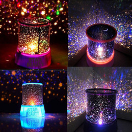 Wholesale Led Star Projector Night Light - Romantic Sky Star Master LED Night Light Projector Lamp Amazing Christmas Gift