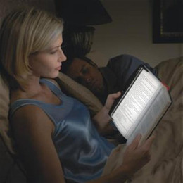 Venta al por mayor de NUEVA Navidad LED Noche Libro de lectura Panel de luz Luz cuña Libro