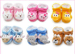 $enCountryForm.capitalKeyWord Canada - 6%off!2015new!Cartoon animal head soft bottom toddler boots.12CM anti-shedding warm booties cheap sale baby shoes baby wear 12pairs 24pcs J