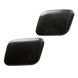 Wholesale Headlight Covers - black HeadLight Head Light Washer Cover Cap Replacement for 98~01 AUDI A6 C5