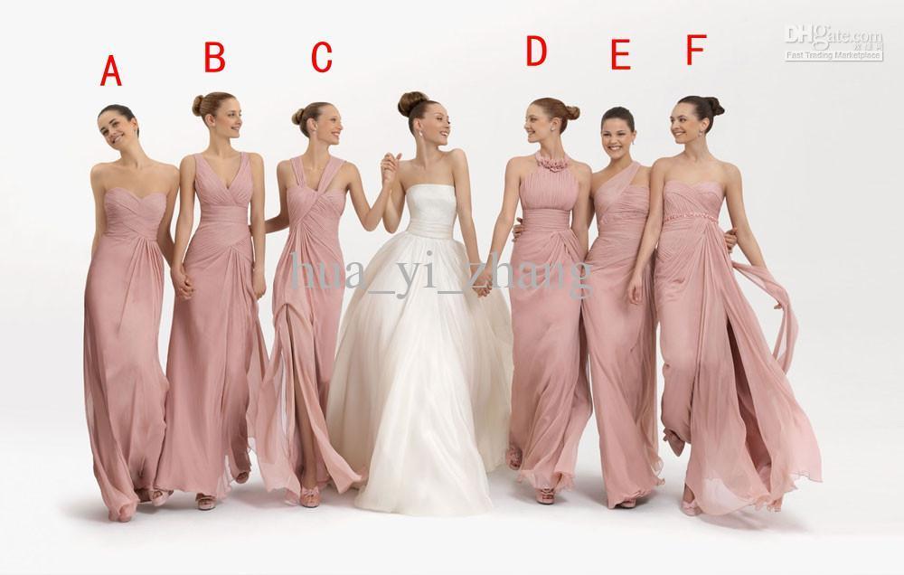 Lujoso Vestidos De Dama Mixtos Embellecimiento - Ideas de Estilos de ...