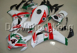Chinese  Castrol red green 7gifts For HONDA CBR1000RR 08 09 10 11 CBR 1000 1000RR MH9117 CBR1000 RR 2008 2009 2010 2011 NEW red white Fairing kit manufacturers