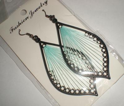 Charming Tropfen Ohrringe Mädchen Anhänger Ohrring Schmuck Ohrringe Zubehör Geschenk 5 Paare / Los Zufalls # 3384 senden