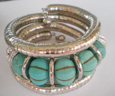 Retail Luxury Turquoise Bracelets Bangle lowest price Christmas gift, #3389
