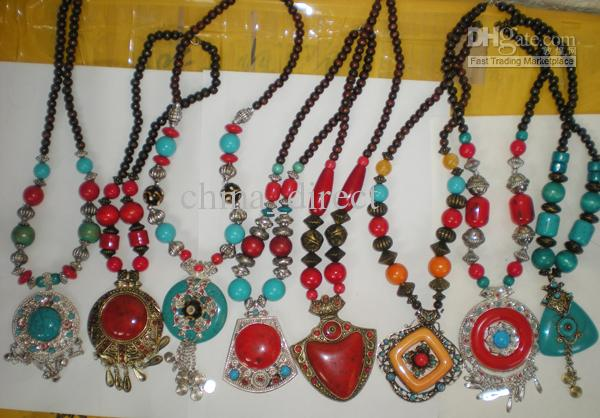Traditional Ethical Necklace Tibetan Jewelry Woman Pendant necklace jewelry LOWEST PRICE SHIP WITHIN 1 BUSINESS DAYS #3399