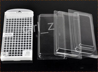 Wholesale Blister Packaging Case - Transparent White PVC blister Retail package With inner For iPhone Samsung Mobile Phone case of tpu silicone or leather case