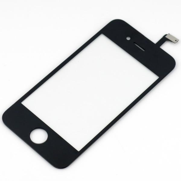 For iPhone 4 4G 4th 4S Digitizer Touch Screen Replacement Front Glass Screen Assembly High Quality DHL EMS