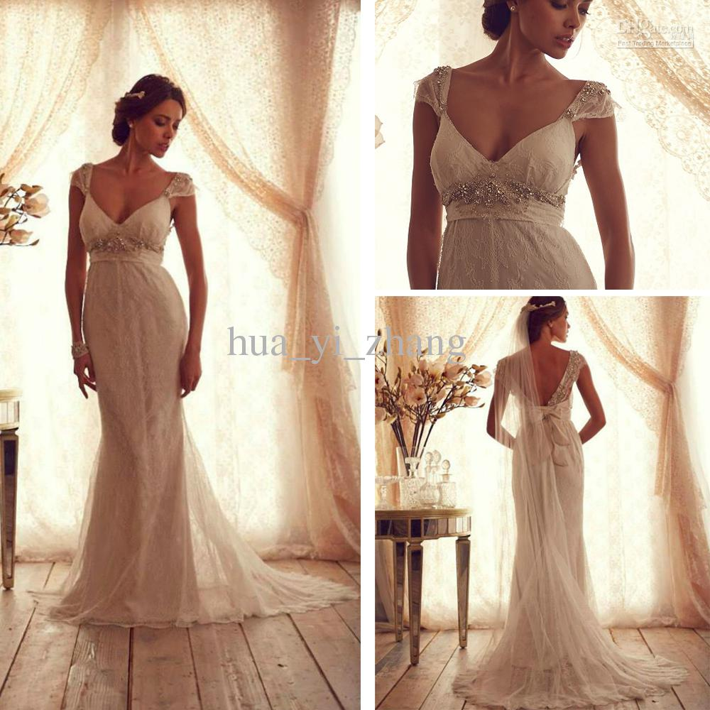 Anna Campbell Wedding Gowns: 2013 Wedding Dresses Inspired By Anna Campbell Chiffon