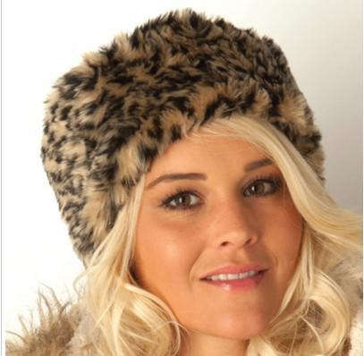 高級フェイクの毛皮のヘッドバンドのヘッドバンド帽子ファッションアパレルキャップハットミックスカラー/ロット#3400
