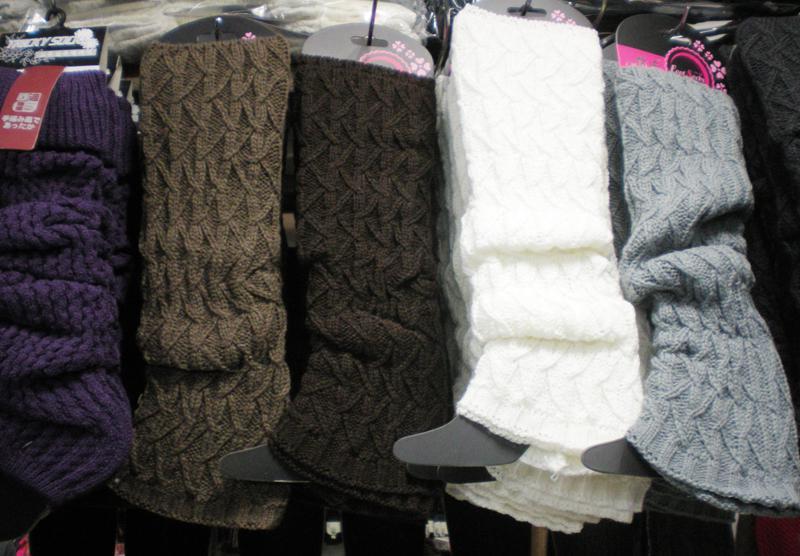 Feste Winter-Knit-Häkelarbeit-Bein-Wärmer-Stiefel-Abdeckungen Enge Frauen tanzen Bein-Wärmer-Legging 24 Paare / Los Mischfarbe # 3410
