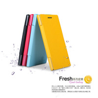Wholesale Ascend P2 - For huawei Ascend P2 phone case NILLKIN-Fresh phone holster