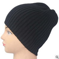 Wholesale Quality Letter Service - Hot Sale Winter Plain Blank Hats Caps Beanies Wool Knitting Caps Hat Outdoor Skiing Caps Beanie Beanies Hat Cap High Quality Good Service