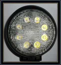 "$enCountryForm.capitalKeyWord Canada - 4.5"" 24W 1800Lum LED Work Lamp Spot Flood Light DC10-30V White Round for Car Truck Boat"