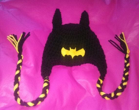 2018 Batman Beanie Custom Made Crochet Hat Pattern Sweet Owl Hat