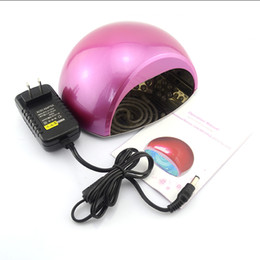 Wholesale Led 18 W - Mini Portable Nail Art Tools 18W CCFL+LED UV Lamp led Lamp Curing Lights Dryer Machine For Nails M010