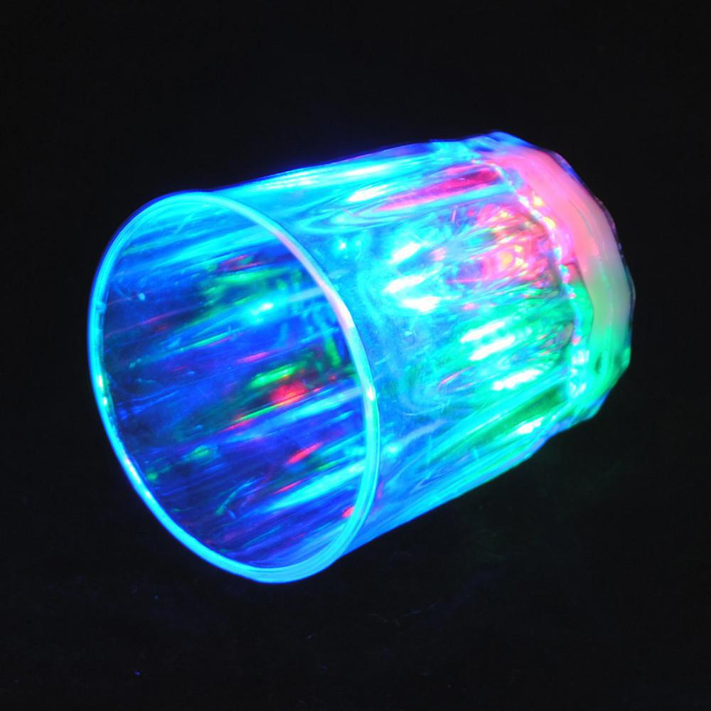 Drinkware LED Flash shot cup Natal Halloween Suprimentos Festival CUP clube neon copo festa de aniversário copo colorido