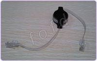 Wholesale Netbook Cabling - 1.5M Retractable RJ45 M-M Cat5 Ethernet Network Cable For Computer Laptop Netbook 50pcs lot
