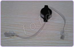 Wholesale Rj45 Network Cable Retractable - 1.5M Retractable RJ45 M-M Cat5 Ethernet Network Cable For Computer Laptop Netbook 50pcs lot