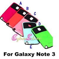Wholesale IFACE Anti Shock Protective Durable Reinforced Hard Case Cover With Retail Package For Samsung Galaxy Note Note3 N9000