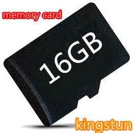 Wholesale Genuine Micro Sd Cards - Wholesale - 16 GB micro Memory Card Class 10 Microsd SD HC Genuine 16GB TF T Flash cards rs