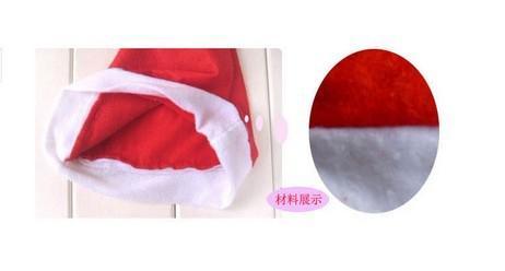 送料無料 -  /ロットサンタクロースレッドクリスマス帽子高品質のクリスマス帽子美しくて絶賛されたクリスマス帽子