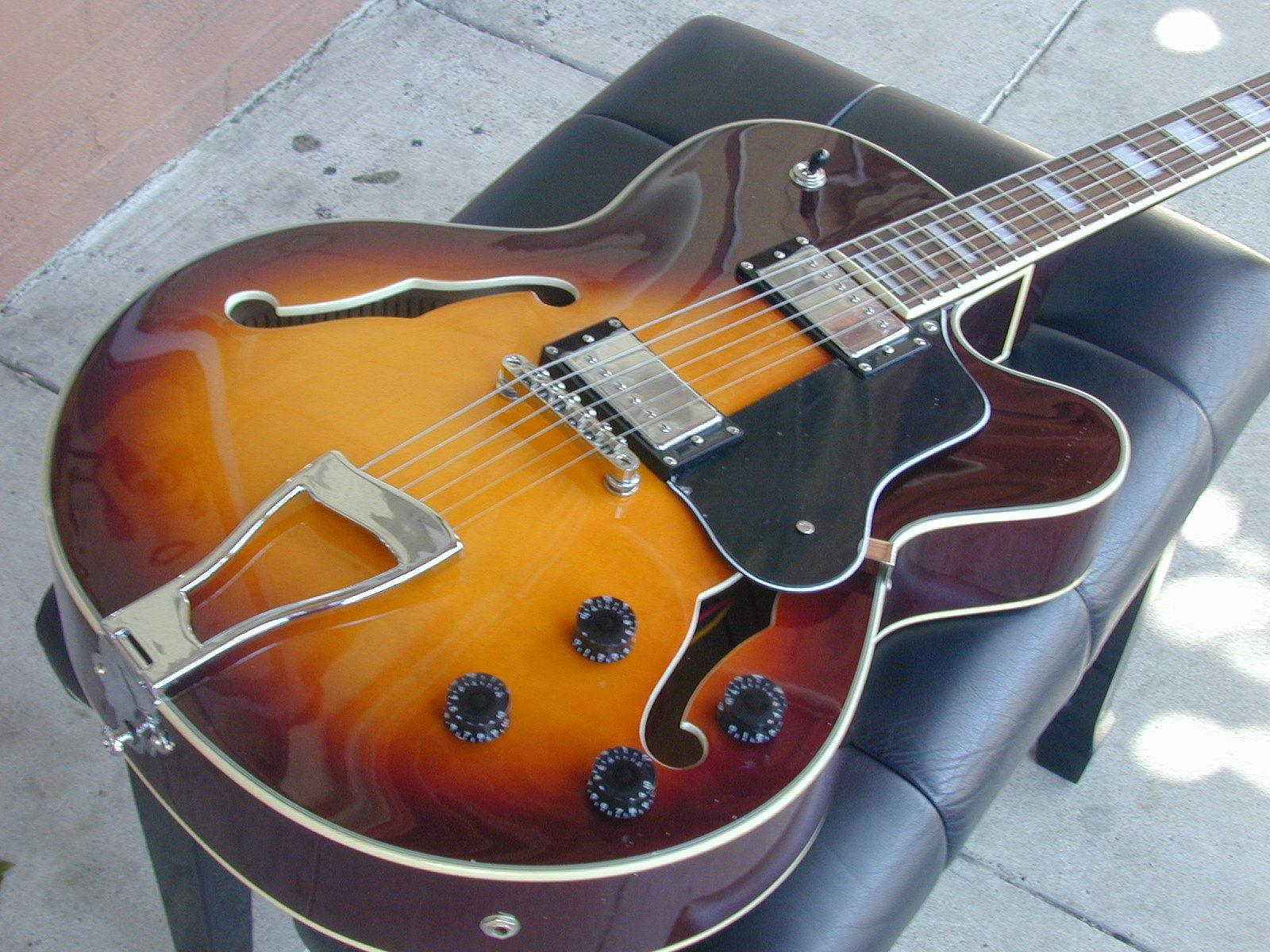 custom shop l 5 jazz guitar sunburst l5 electric guitar wholesale guitars from china guitar. Black Bedroom Furniture Sets. Home Design Ideas