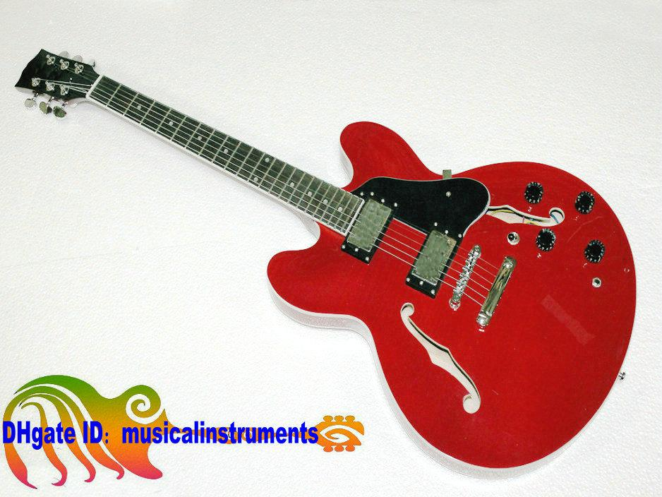 Sales promotion Custom Shop 335 Electric Guitar RED Jazz guitars guitars from china