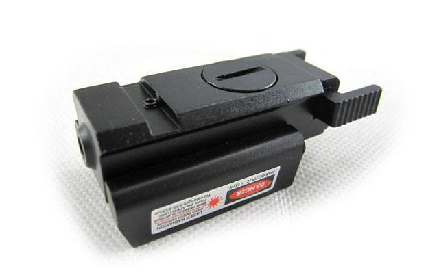 Tactiacl 소형 권총 빨간 레이저 시야 범위 RL-02