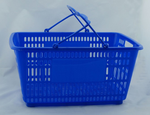 best selling High quality hot sale PPS+METAL Shopping basket for supermarket