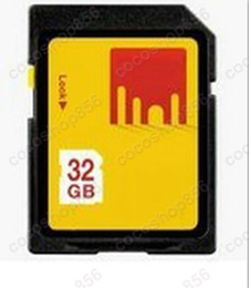 Wholesale Fast Shops - 50pcs lot Fast Free shipping New 32GB SD SDHC Card Memory Card cocoshop856 shop