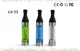 Ego T Replacement Tank Canada - 2013 hot item T2 Clearomizer Atomizer Cartomizer 2.4ml Tank Replacement for Electronic Cigarette E-Cigarette ego-t