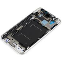 nota3 cubre al por mayor-Carcasa intermedia Marco medio Chasis Cubierta del bisel para Samsung Galaxy Note 3 Note3 A Stock