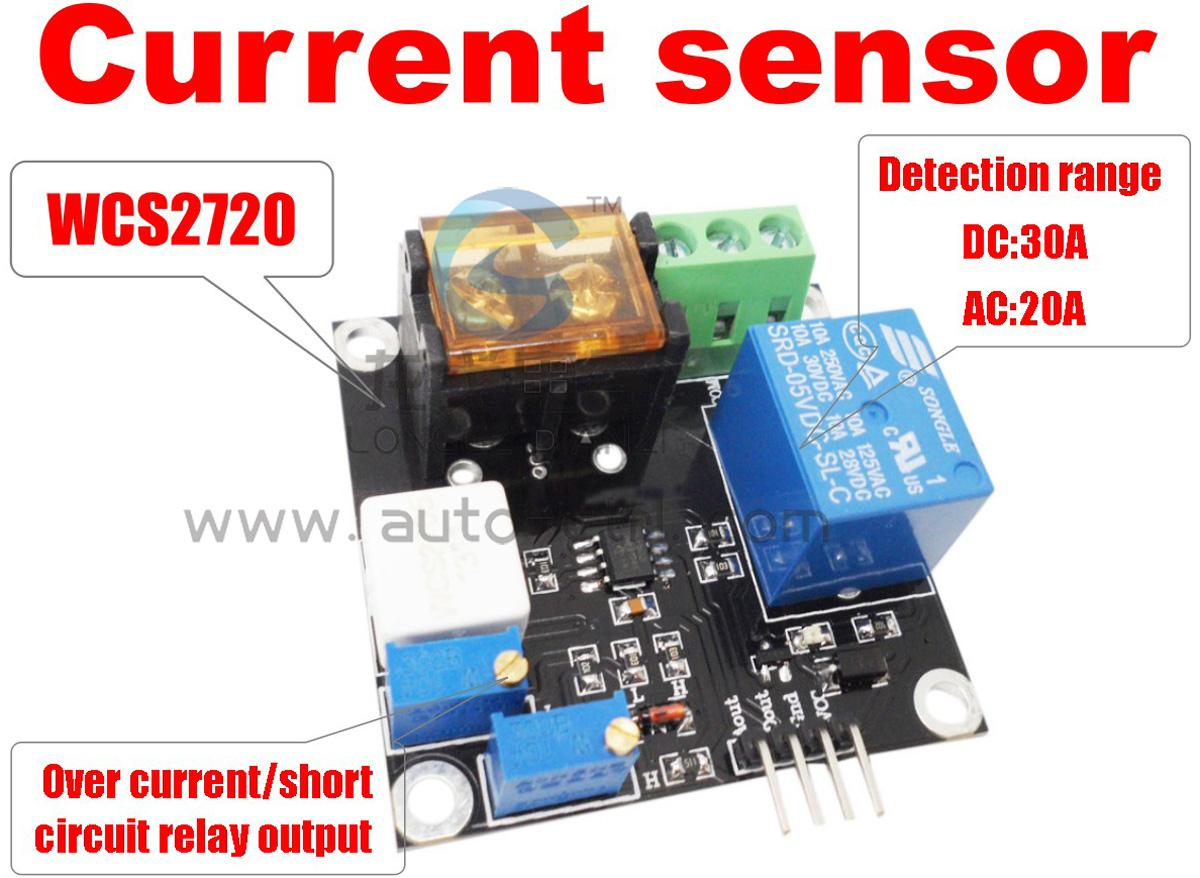2019 Wcs2720 Ac Current Sensor 20a Short Circuit Overcurrent Protection Module From Logoelesale 189