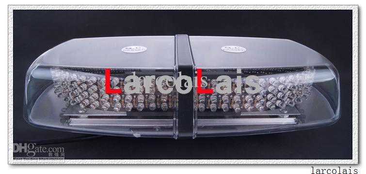 高出力240 LED車の屋根フラッシュストロボの磁石緊急EMSライト点滅ライト240LED琥珀色の白