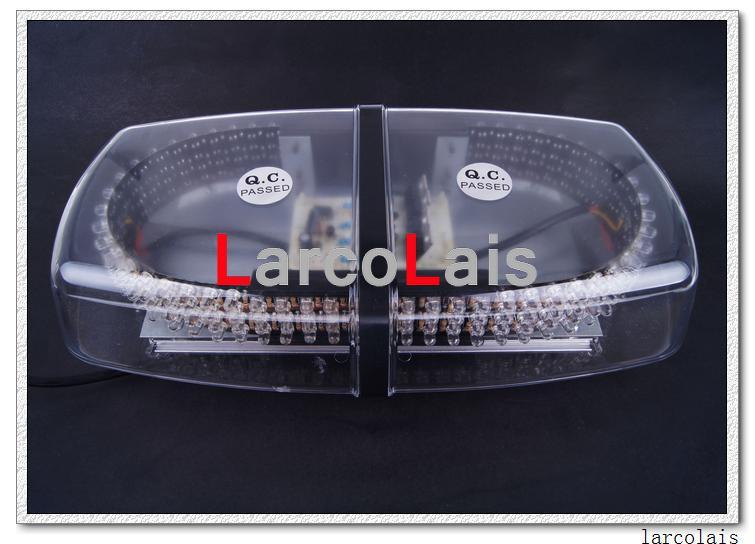 Lampade magnetiche stroboscopiche del flash del tetto dell'automobile di alto potere 240 LED Luci di emergenza EMS Lampeggiante 240LED Ambra bianca