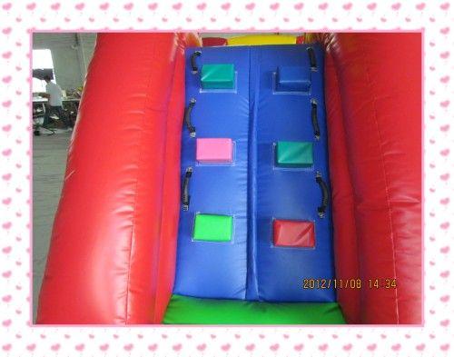 Inflable trampolín tobogán inflable inflable gorila salto cama trampolín juguete de interior con ventilador de aire para el envío gratis