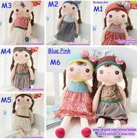 Wholesale Wholesale Discount Plush Toys - Big Discount Infant Toys 20'' Baby Angela Plush Doll Metoo Stuffed Animals 6 styles Rabbit Dolls Plush Toys U Choose Style Freely 2Pcs lot