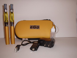 Wholesale Set Ego Ce5 Atomizer Kit - eGo T Double Twin E Shisha Pen Starter Kit with Colorful CE5 Atomizer,ego t battery,colorful ego bag+20%OFF! Fatory price+30pcs lot DHL Free