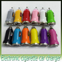 Wholesale Auto Cigarette Adapter - Christmas Gift! USB 2.0 Ports Car Charger ego Cigarette 2.1A Auto Power Adapter for iphone 4S 5S HTC Samsung S4 MP3