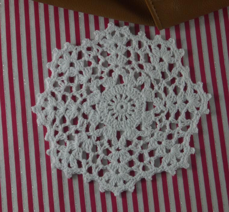 EMS Wholesale100% cotton crochet doilies table mat coaster placemats for table, appliques 14x14CM