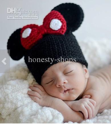 e9a03d4fa6b Minnie Mouse Custom made OWL baby hats OWL crochet baby hats knit baby hats