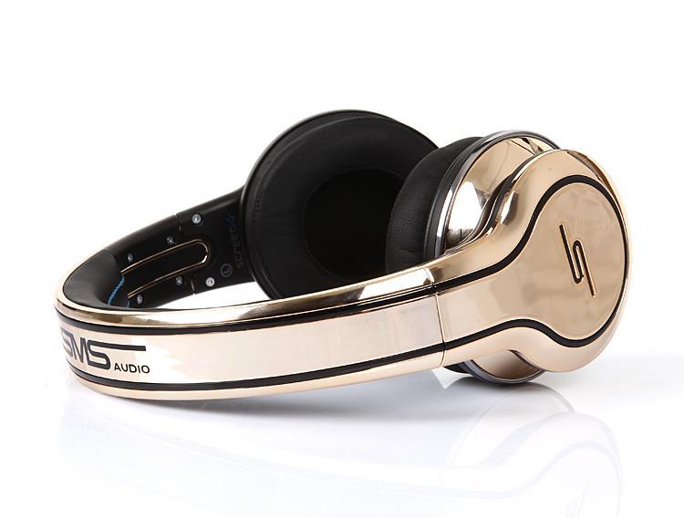 50 cent Kopfhörer SMS Audio Limited Edition Vergoldete Straße ON-EAR DJ Headsets Schnelles Schiff über DHL-Proben