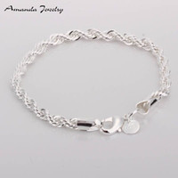 Wholesale Wholesale Nickle Plated Jewelry - S-B207 Free shipping,wholesale,925 silver bracelets,fashion jewelry, Nickle free,antiallergic,factory price