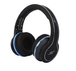 SmS wired headphoneS online shopping - 50 Cent Headphones SMS Audio grey color STREET On Ear DJ Headsets fast ship via DHL best factory price