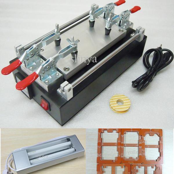 110V / 220V UV-Licht-Schwarz-Handy-Frontglas-LCD-Bildschirm-Reparatur-Werkzeug LCD-Bildschirm-Trennzeichen-Maschinen-Set für iPhone 4 5 Samung S3 S4 Anmerkung 2