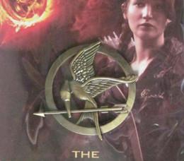 2019 filme de produtos Venda por atacado - 20% de desconto NOVOS produtos de 2012 The Hunger Games pin Filme Mockingjay Pin Broche Unisex Breastpin filme de produtos barato