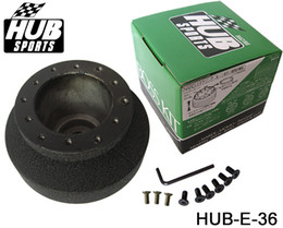 Wholesale E36 Wheels - High Quality Racing Steering Wheel Hub Adapter Boss Kit for BMW E36 HUB-E-36 Have In Stock