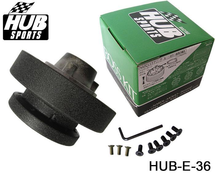 Högkvalitativ Racing Ratt Hub Adapter Boss Kit för BMW E36 HUB-E-36 har i lager