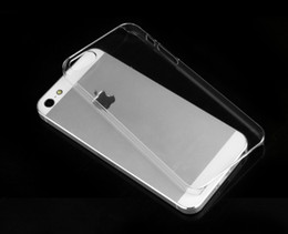Wholesale Cheapest Iphone 5s - Cheapest Crystal case clear hard back cover transparent case for iphone 5S 5G DHL fast shipping