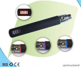 Wholesale Ego Battery Voltage Led - eGo VV 650mah 900mah 1100mah variable voltage Led battery EGO-vv Electronic Cigarette for RDA RBA Vaporizer